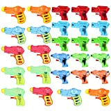 TOYMYTOY Mini Pistole ad Acqua in plastica Pistola Squirt,24 Pezzi
