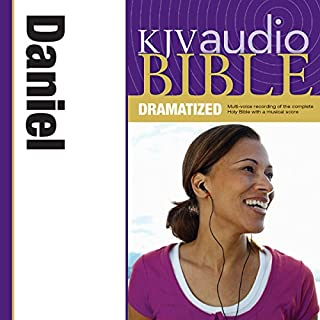 Dramatized Audio Bible - King James Version, KJV: (24) Daniel audiobook cover art