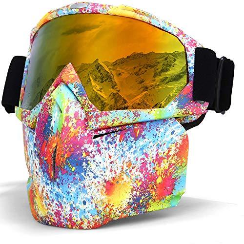 Smarcent Gafas de sol para esquí, snowboard, snowboard, etc.