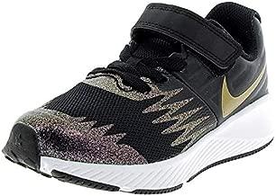 Nike Girls Star Runner SH Gym Running Shoes Black 3 Medium (B,M) Little Kid