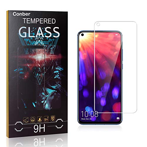 Conber [1 Pièces] Verre Trempé pour Samsung Galaxy J3 2017, Dureté 9H vitre de Protection, Compatible avec Coques, Film Protection Ecran pour Samsung Galaxy J3 2017