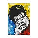 JosHoppenbrouwers Herman Brot Druck (50 x 70 cm) *ungerahmt