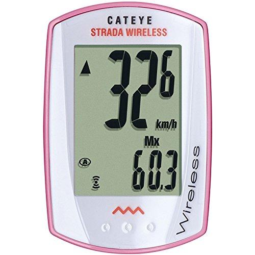 CatEye Strada Wireless - Ciclocomputador inalámbrico, Color 559