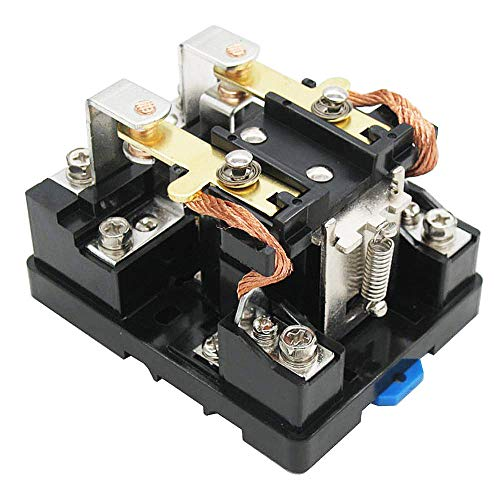 TWTADE/JQX-62F-2Z Coil Voltage AC 110V 80A DPDT Electronmagnetic Relay,High Power Relay AC 110V