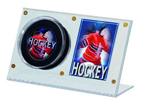 Ultra Pro NHL Puck und Kartenhalter aus Acryl