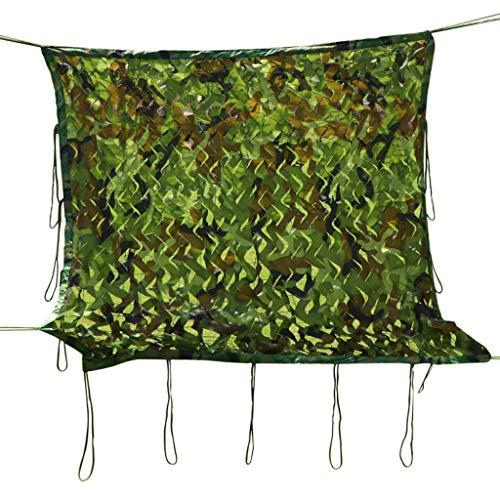 QIANMEI Velas de Sombra Toldos para Patio Camo Net | Camo Net Persianas | para Patio Green Plant Shade Net Net Network, Red de Protector Solar de Camuflaje Verde de montaña (Size : 10x10m)
