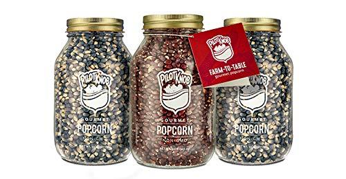 Great Price! Pilot Knob Comforts Gourmet Popcorn Kernels for Popcorn Machines, Popcorn Popper, Air P...