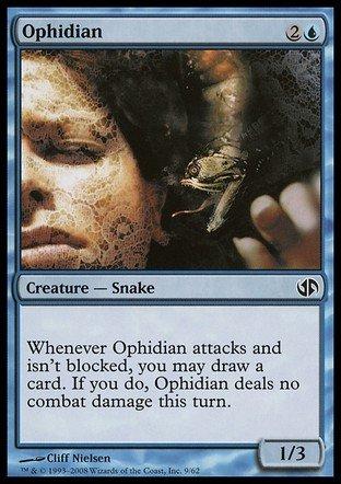 Magic The Gathering - Ophidian - Duel Decks: Jace vs Chandra