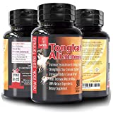 Longjack Tongkat Ali Extract 200 to 1 – Natural Testosterone Booster for Men, Libido Booster for Men, 3000mg Daily 90 Tongkat Ali Capsules, Increase Stamina, Energy, Muscle Growth, Blood Flow