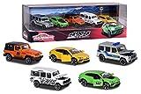 Majorette - 4X4 SUV Giftpack - Voitures Miniatures en Métal - Coffret 5 Véhicules - 212053169