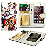 N4U Online® Heart Patterned Clip On Series PU Leather