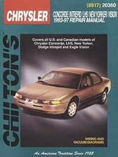 Best chrysler concorde 1993 manual Reviews