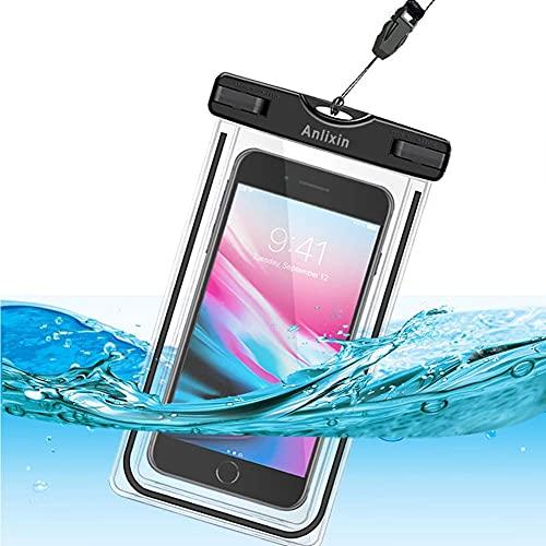 Anlixin Wasserdichte Handytasche, Handyhülle Beutel Tasche Wasserfeste Handyhuelle Schützhülle für iPhone 12 Pro X XR XS MAX Samsung S21 Ultra S20 FE S10 S9 Note 20 Oneplus 9 8T Pro Huawei P40 P30 Pro