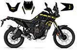 race-styles - Adesivo compatibile con Yamaha Tenere 700 Black Graphics DEKOR, Factory Decals KIT