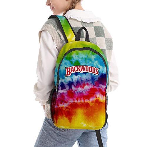 Backwoods Backpack, 3D Backpack, Work Computer Backpack College/High School Bags for Men/Women/Boys (Backwoods Galaxy)