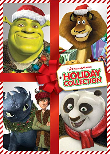 DreamWorks Holiday Collection (Shrek the Halls / Merry Madagascar / Dragons Holiday: Gift of the Night Fury / Kung Fu Panda Holiday)