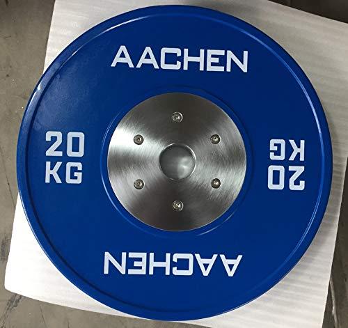 Aachen Rubber Competition Bumper Plates (10, Pounds)