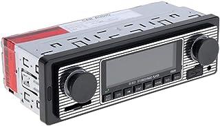 BESPORTBLE, reprodutor de música para carro, rádio USB, MP3, receptor estéreo retrô, reprodutor de áudio de carro – 12 V
