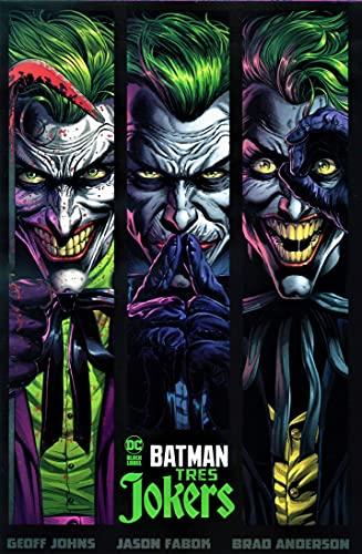 Batman: Tres Jokers - DC Black Label + 2 POSTERS EXCLUSIVOS DE REGALO