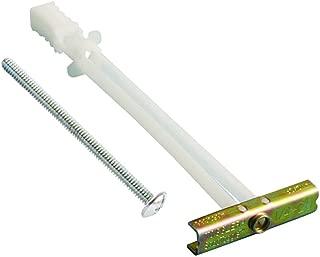 (BB) 1/4-20 Toggler SNAPTOGGLE Heavy Duty Toggle Bolt Zinc with 1/4-20 x 2 1/2 Combo Pan Machine Screws Zinc (10 Pcs)