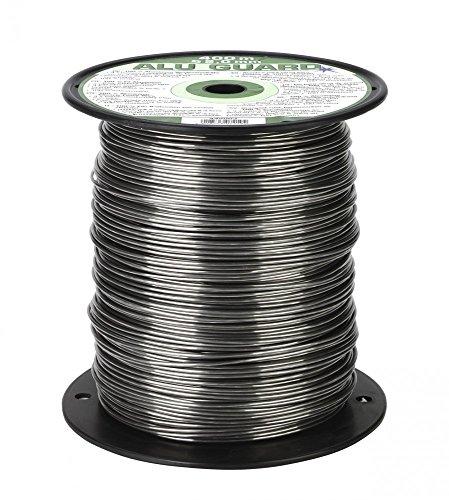 Kerbl 400 m Aluminium Weidezaundraht 2,0 mm Elektrozaun Bruchlast 90 kg