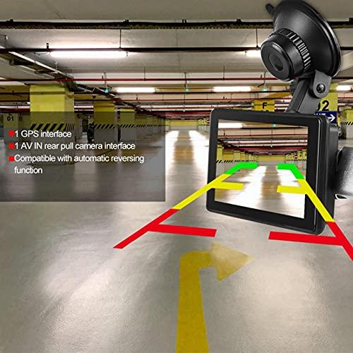 Emoshayoga Grabador de cámara HD 1080P DVR Compatible con función de Marcha atrás automática Soporte Descarga de la aplicación