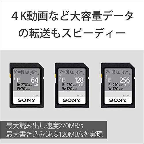 ソニーSONYSDXCメモリーカード128GBSF-E128Class10UHS-II対応