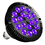 Black Light Bulb, KINGBO 36W LED Blacklight E26...