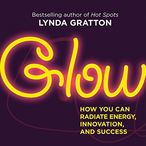 Glow audiobook cover art