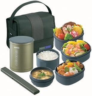 象印 ( ZOJIRUSHI  ) 保温弁当箱お・べ・んと 【茶碗約1.5杯分】 SZ-DA03-GL オリーブグリーン