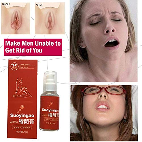 KWOLYKIM Suoyingao, Vaginal Cream, Vaginal Getting Tighter,Firming Vaginal Gel, Shrink The Female Vagina (50ml) Women to Become a Virgin Again,Make Men Unable to Get Rid of You
