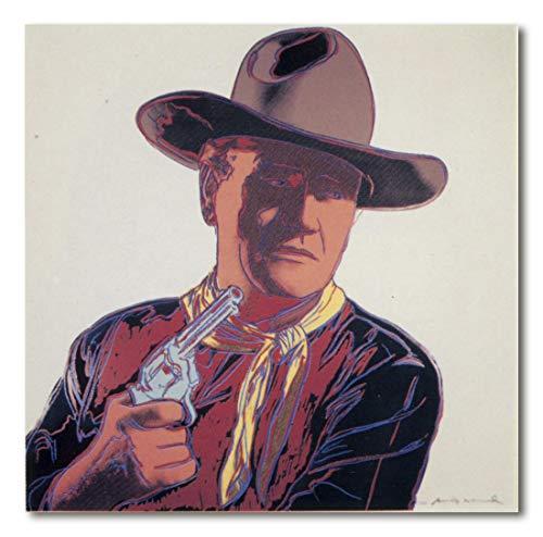 Cuadro Decoratt: Wayne Hires - Andy Warhol 25x25cm. Cuadro de impresión directa.