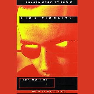 High Fidelity audiobook cover art
