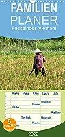 Fesselndes Vietnam - Familienplaner hoch (Wandkalender 2022 , 21 cm x 45 cm, hoch): Einblicke in ein facettenreiches Land (Monatskalender, 14 Seiten )