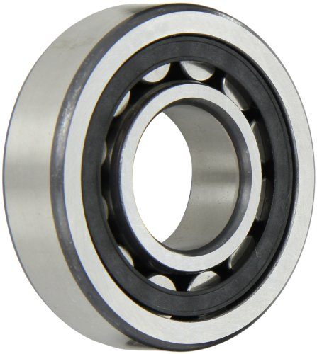 FAG NJ306E-TVP2-C3 Cylindrical Roller Bearing, Single Row, Straight Bore, Removable Inner Ring, Flanged, High Capacity, Polyamide/Nylon Cage, C3 Clearance, Metric, 30mm ID, 72mm OD, 19mm Width