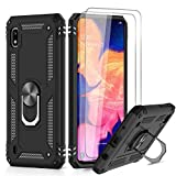 LeYi for Samsung Galaxy A10 Case and 2 Tempered Glass