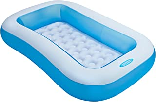 Intex Inflatable Pool 166 x 100 x 28 cm [57403], Multi Color