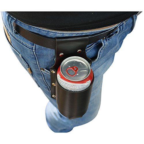 Vi PU Leather Beer Holster for 12 Ounce Beer Bottle Beer Can...