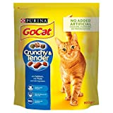 Purina GO-CAT Crunchy and Tender Dry Cat Food Salmon 800g