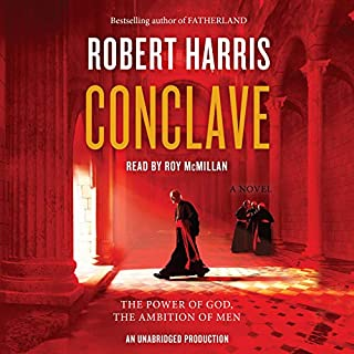Conclave audiobook cover art