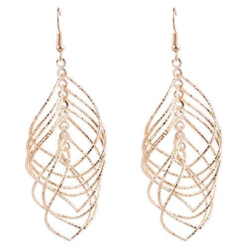 JUNBOSI oorbellen mode overdreven metalen slaapzak holle oorbeugel creatieve legering grote oorbellen vrouwelijke hanger haak multifunctioneel luxe stijl fantasy sieraden