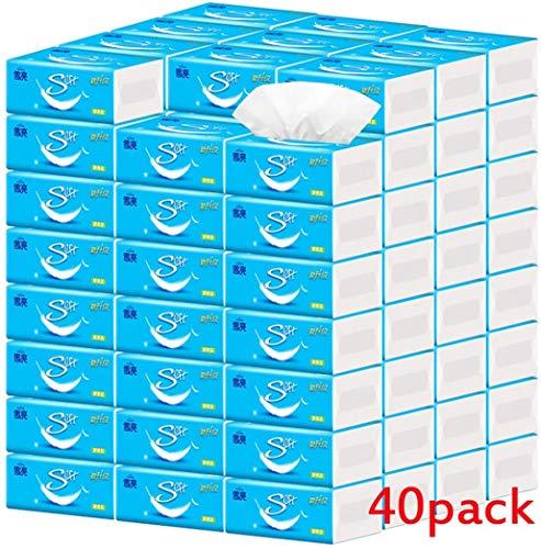 40 verpakkingen van toiletpapier 4 lagen dik 40 verpakkingen per doos 275 vellen per pak (in China)