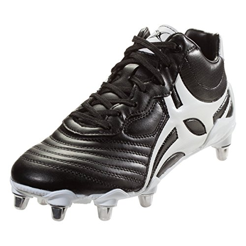 Gilbert Celera V3 High 8S Rugby Boot, Black, US 13