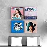 ganlanshu Weinende Babyplakate und -drucke mit Wandmalereien für die Heimdekoration im...
