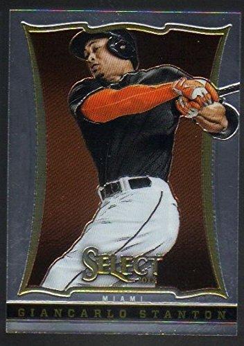 2013 Panini Select Baseball #3 Giancarlo Stanton Miami Marlins