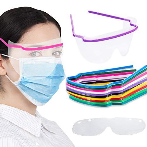 DreamJing 10 Occhiali Protettivi Monouso, Occhiali Per La Casa, Leggeri, Impermeabili E Antiappannanti