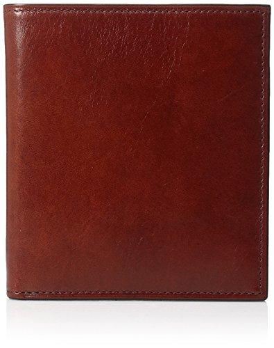 Bosca Men's 12-Pocket Credit Wallet, Cognac