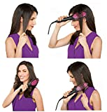 WEVDOT Hair Electric Comb Brush 3 in 1 Ceramic Fast Hair Straightener For Women's Hair Straightening Brush with LCD Screen, Temperature Control Display,Hair Straightener For Women (Black)