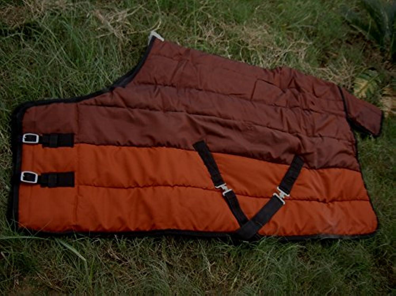 420 Denier Winter Horse Coat Stable Blanket Rust 7020