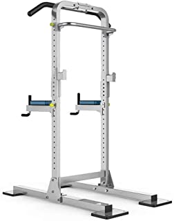 ZJETVO Multifunctional Exercise Equipment, Power Tower,Dip Station Pull Up Bar for Home Gym Strength Training Workout Equi...